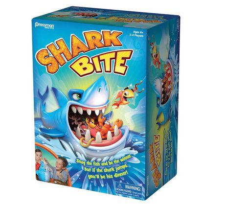 Pressman Toys: Shark Bite Game - image 1 of 3