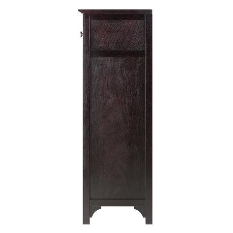 walmart wine cabinet 92738 ancona modular wine cabinet with one drawer amp 24 28145