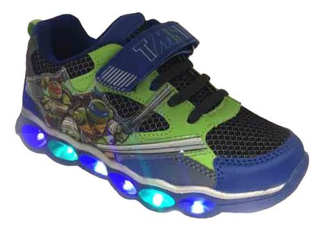 tmnt light up shoes