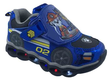 PAW Patrol Athletic Shoes with LED Lights - image 3 of 4