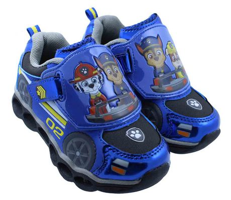 PAW Patrol Athletic Shoes with LED Lights - image 1 of 4