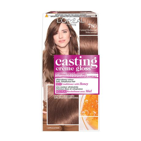 loreal paris coloration casting crme gloss par healthy look n 780 moka caramel - Coloration Moka