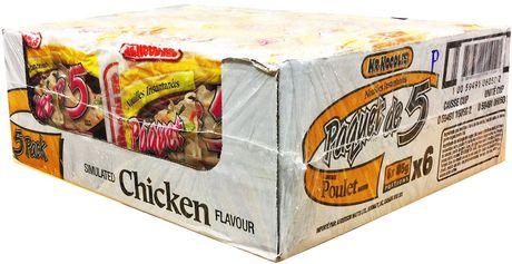 Mr. Noodles 5 Pack Chicken Instant Ramen Soup Case Pack - image 2 of 9