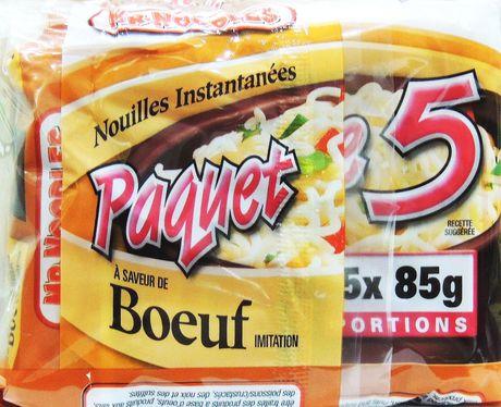 Mr. Noodles 5 Pack Beef Instant Ramen Soup Case Pack - image 5 of 9