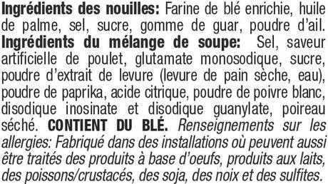 Caisse de nouilles ramen instantanées à saveur de poulet épicé de Mr. Noodles en paquet de 5 - image 7 de 9