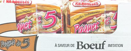 Mr. Noodles 5 Pack Beef Instant Ramen Soup Case Pack - image 9 of 9