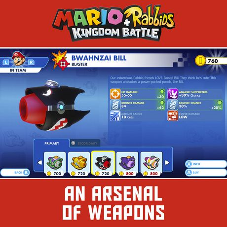 Mario + Rabbids Kingdom Battle (Nintendo Switch) - image 4 of 7