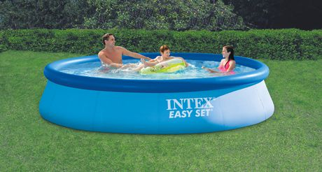Intex 16 39 x 42 easy set pool for Big blue piscine