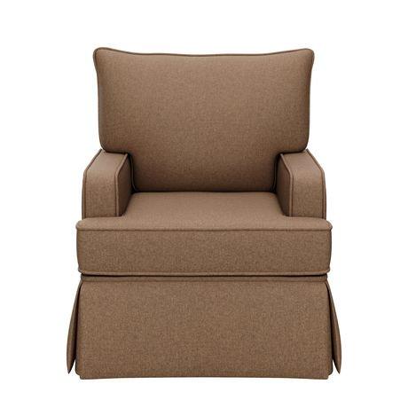 Storkcraft chaise ber ante davenport marron walmart canada for Chaise bercante walmart