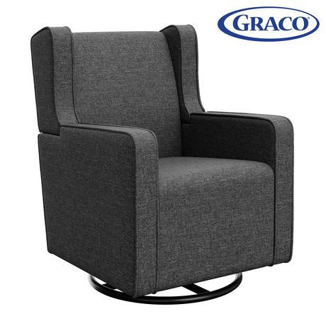 Graco Remi Upholstered Swivel Glider - image 1 of 5