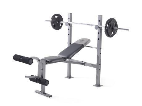 Banc D Exercice Xr 6 1 De Gold S Gym Walmart Ca