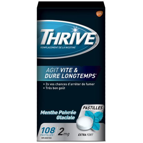 Thrive Lozenges 2mg Regular Strength Nicotine Replacement - image 2 of 2