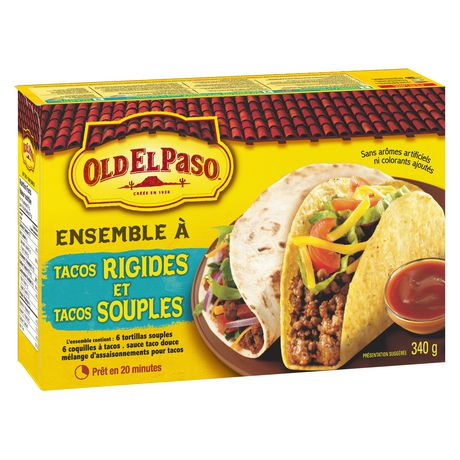 Old El Paso Hard And Soft Taco Dinner Kit - image 8 of 9
