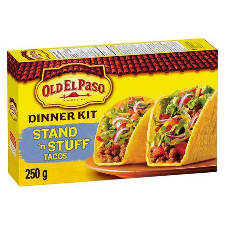coquilles tacos tout plat tout plein d 39 old el paso walmart canada. Black Bedroom Furniture Sets. Home Design Ideas