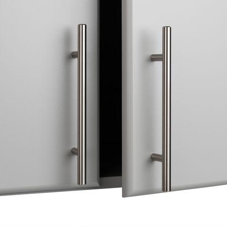"Prepac Elite 32"" Storage Cabinet - Light Gray - image 7 of 9"