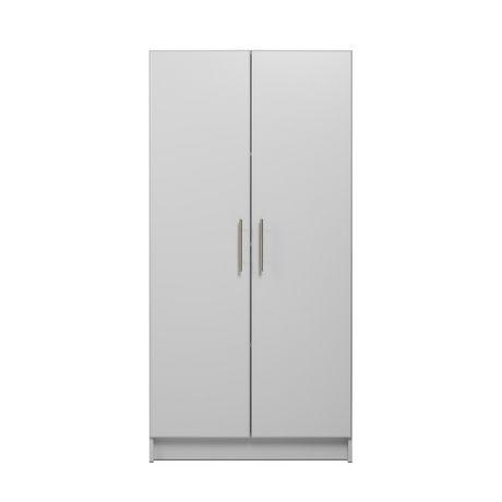 "Prepac Elite 32"" Storage Cabinet - Light Gray - image 3 of 9"