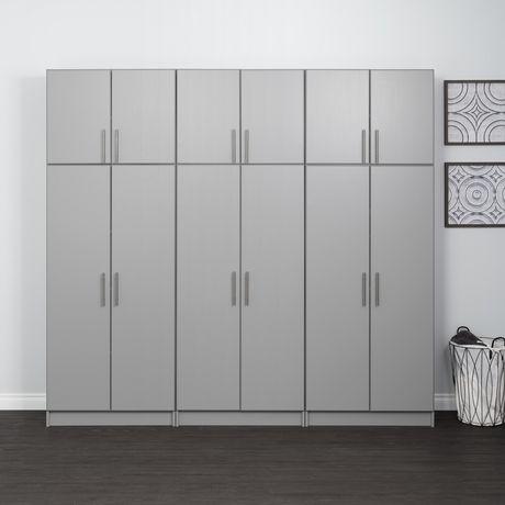 "Prepac Elite 32"" Storage Cabinet - Light Gray - image 9 of 9"