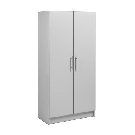 "Prepac Elite 32"" Storage Cabinet - Light Gray - image 1 of 9"