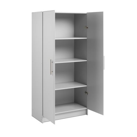 "Prepac Elite 32"" Storage Cabinet - Light Gray - image 2 of 9"