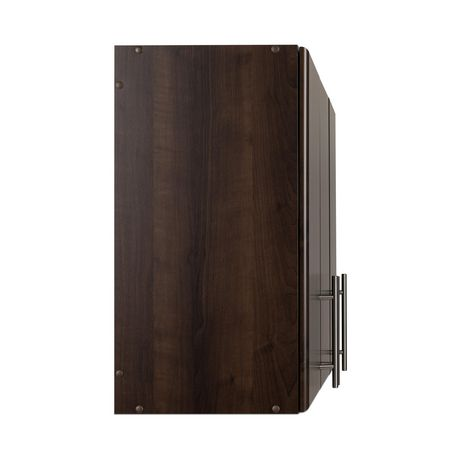 "Prepac Elite 54"" Wall Cabinet - Espresso - image 5 of 8"