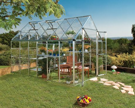 palram premier snap n grow greenhouse 8u0027 x 12u0027