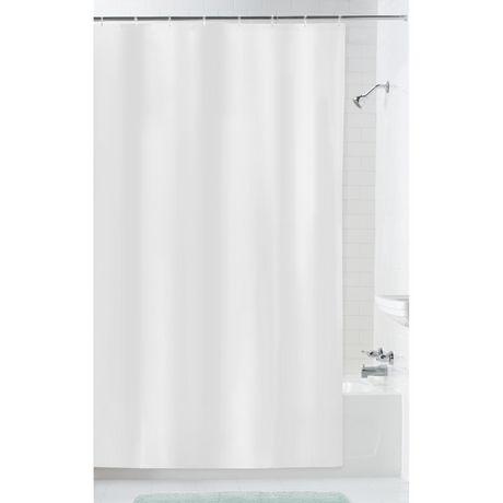 mainstays oversized fabric shower liner - Shower Liner