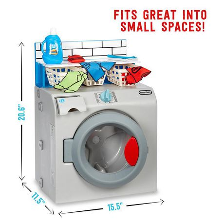 Little Tikes First Washer-Dryer Realistic Pretend Play Appliance for Kids - image 6 of 6