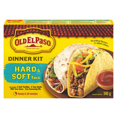 Old El Paso Hard And Soft Taco Dinner Kit - image 1 of 9