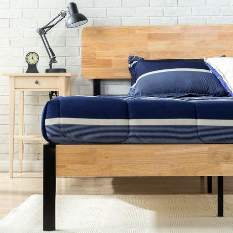 Zinus Tuscan Metal Amp Wood Platform Bed Walmart Canada