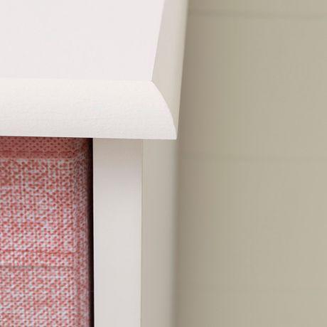 South Shore Sweet Piggy Commode 4 tiroirs avec paniers-Blanc et rose - image 7 de 9