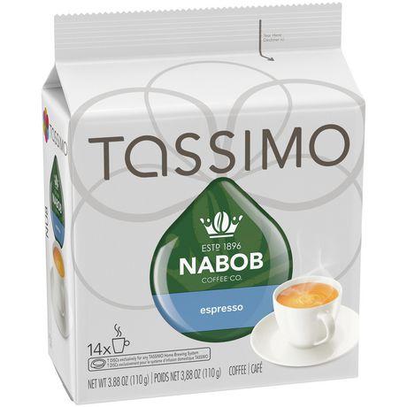 Disques individuels T DISC de café espresso Nabob Tassimo - image 2 de 5
