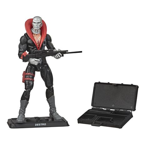 G.I. Joe Retro Collection Destro Toy 3.75-Inch-Scale Collectible Action Figure with Multiple Accessories, Toys for Kids Ages 4 and Up - image 2 of 4