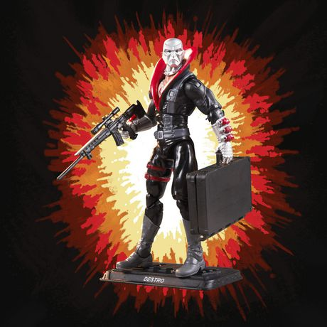 G.I. Joe Retro Collection Destro Toy 3.75-Inch-Scale Collectible Action Figure with Multiple Accessories, Toys for Kids Ages 4 and Up - image 4 of 4