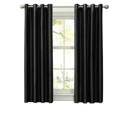 panneau oeillets avec doublure thermique en similisoie. Black Bedroom Furniture Sets. Home Design Ideas