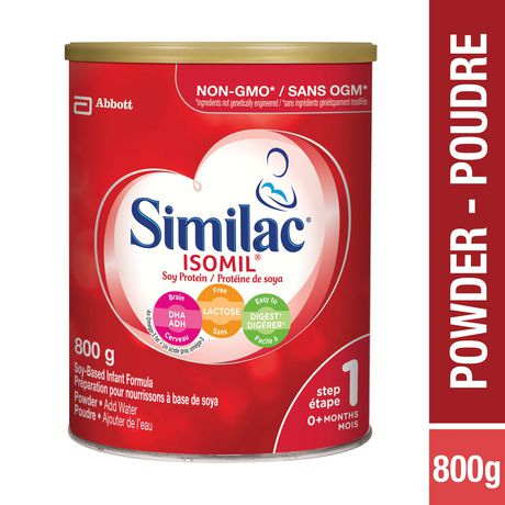 Similac 174 Isomil 174 With Dha Baby Formula Powder Lactose