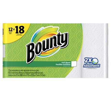 Bounty Paper Towels, White - image 1 of 6