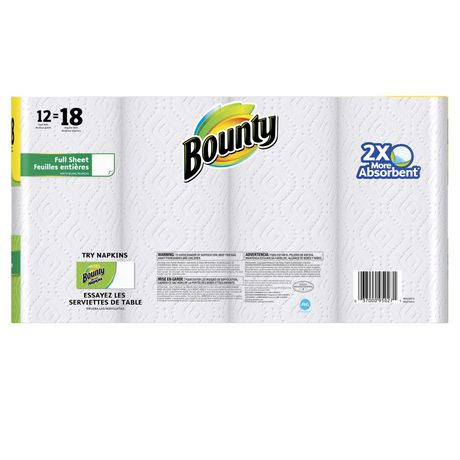 Bounty Paper Towels, White - image 2 of 6