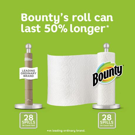 Bounty Paper Towels, White - image 6 of 6