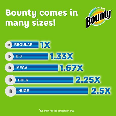 Bounty Paper Towels, White - image 3 of 6