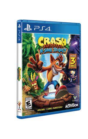 Crash Bandicoot: N-Sane Trilogy (PS4) | Walmart Canada Crash Bandicoot Ps3 Walmart