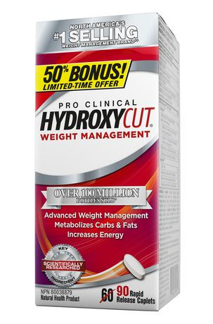Hydroxycut Pro Clinical Weight Management Capsules