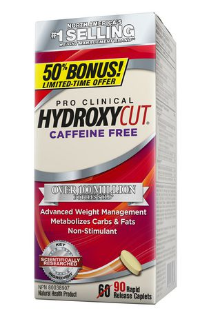 Hydroxycut™  Caffeine-Free Caplets - image 1 of 2