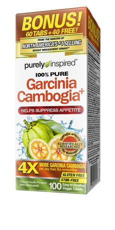 Purely Inspired Garcinia Cambogia Veggie Tablets