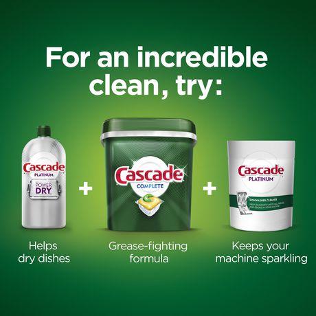 Cascade® Complete™ ActionPacs™ Dishwasher Detergent, Lemon Scent - image 5 of 8