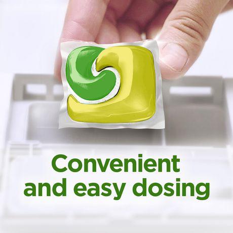 Cascade® Complete™ ActionPacs™ Dishwasher Detergent, Lemon Scent - image 4 of 8