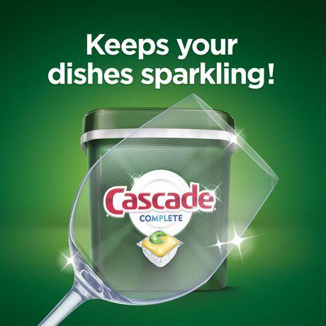 Cascade® Complete™ ActionPacs™ Dishwasher Detergent, Lemon Scent - image 3 of 8