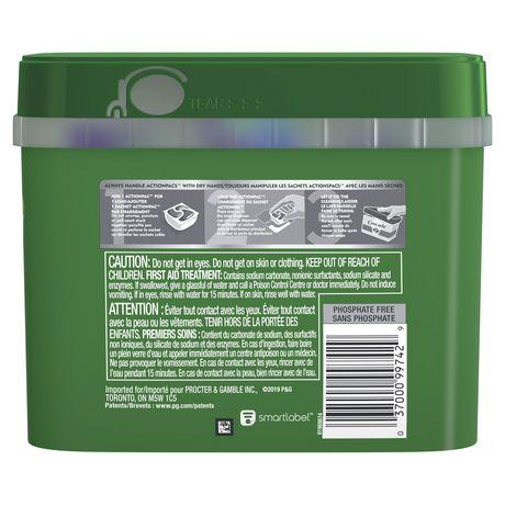 Cascade® Complete™ ActionPacs™ Dishwasher Detergent, Lemon Scent - image 2 of 8