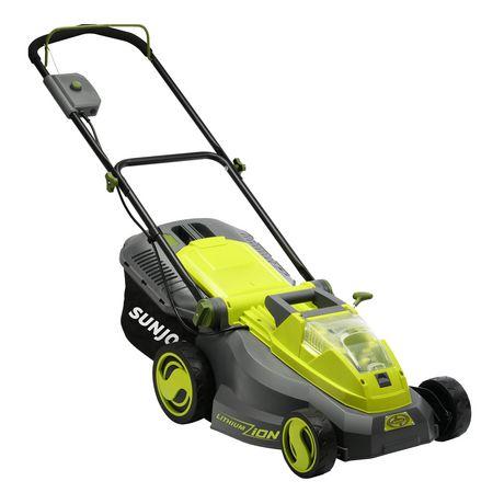 Sun Joe iON16LM Cordless Lawn Mower, 16 inch, 40V, Brushless Motor - image 1 of 9