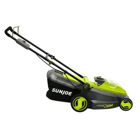 Sun Joe iON16LM Cordless Lawn Mower, 16 inch, 40V, Brushless Motor - image 2 of 9