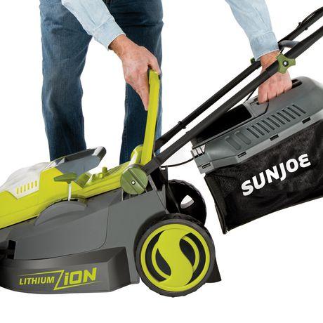 Sun Joe iON16LM Cordless Lawn Mower, 16 inch, 40V, Brushless Motor - image 8 of 9